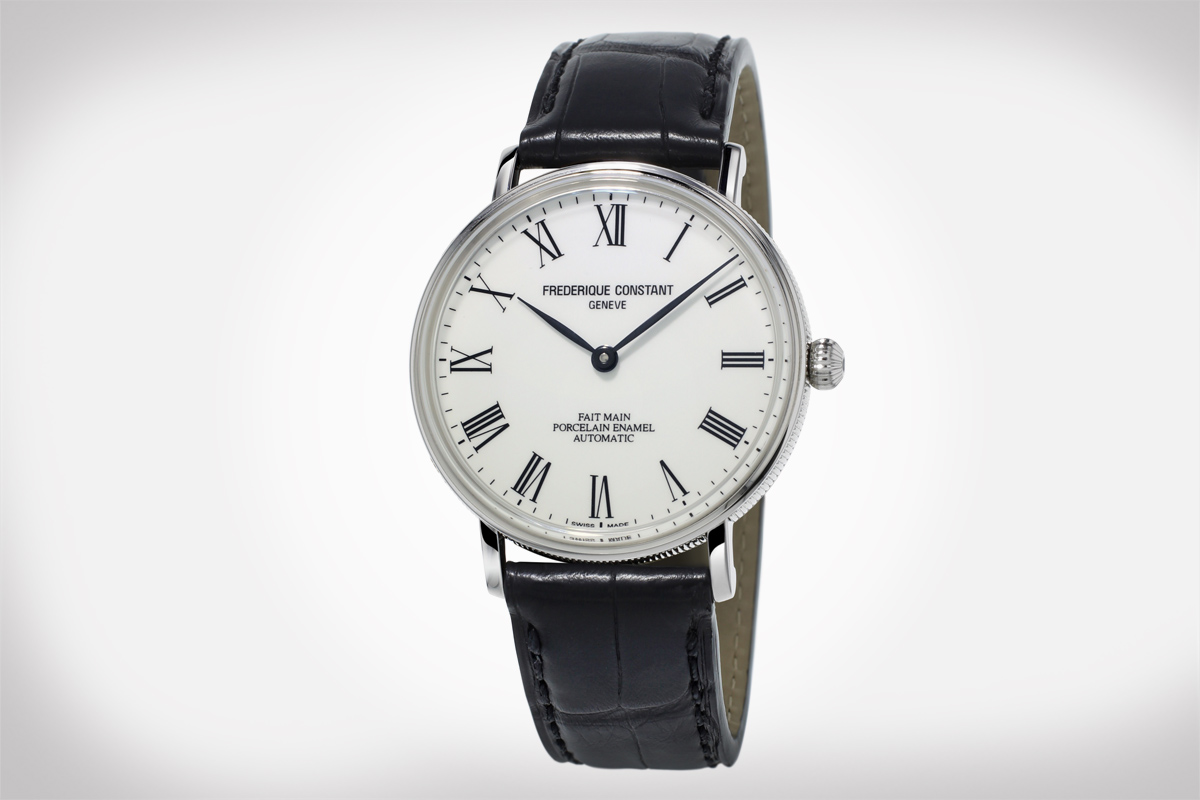 Frederique Constant: Art of Porcelain Watch