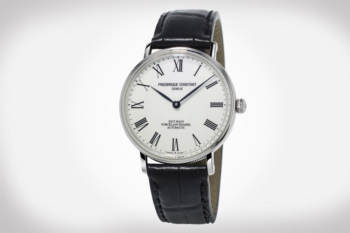 Frederique Constant: Art of Porcelain Watch