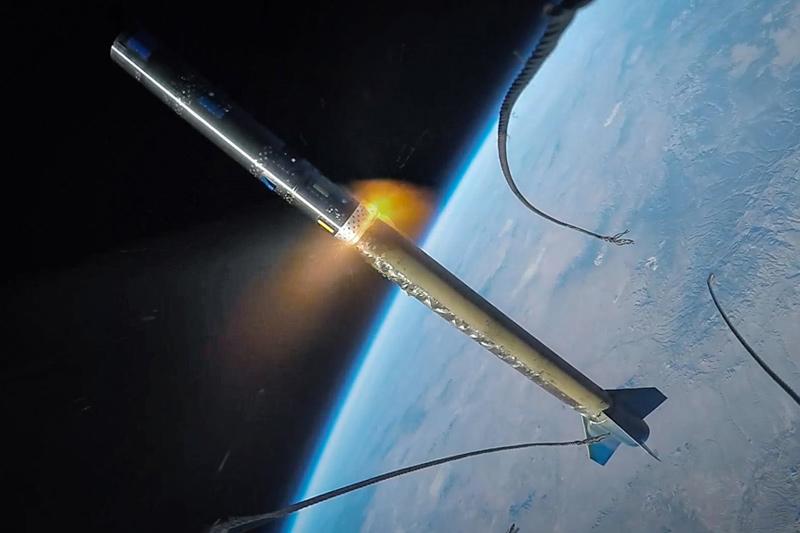 GoPro Rocket Launch
