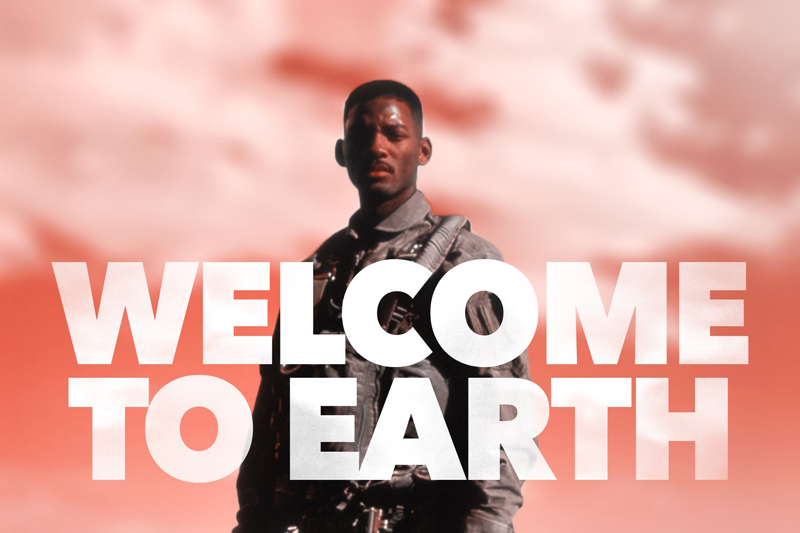 """""""Welcome to Earth"""" - Independence Day Remix"""