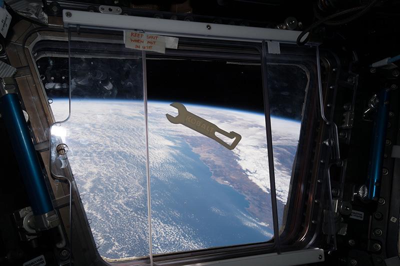 3D Printed Kobalt Tools in Space