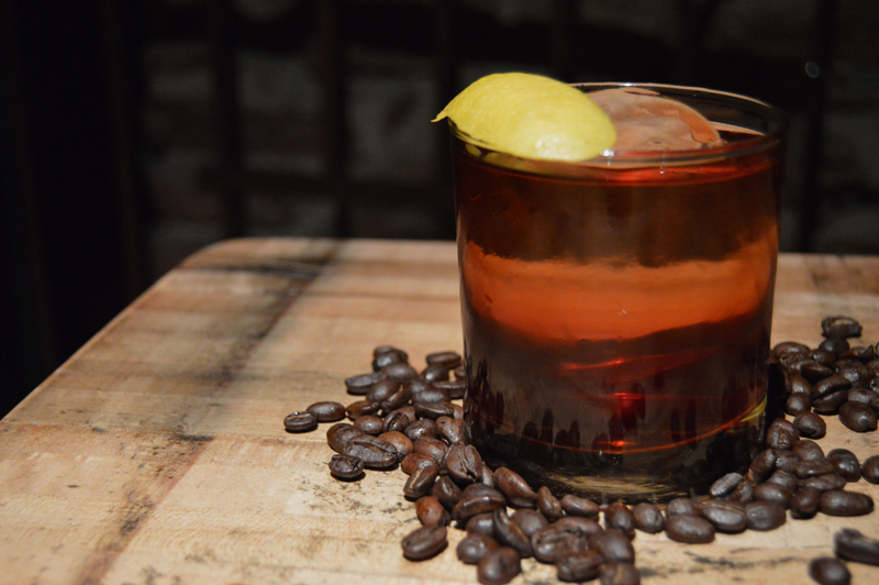 A Cold Brew Negroni Cocktail