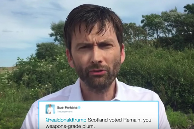 David Tennant Reads Mean Tweets