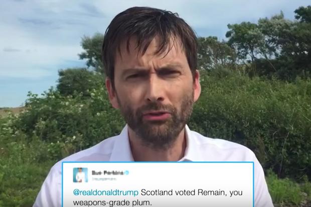 David Tennant Reads Mean Tweets