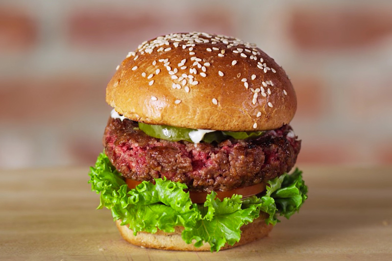 The Impossible Burger from Impossible Foods