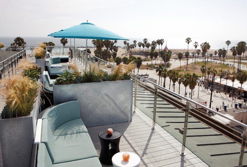 LA Rooftop Bars Near Ocean