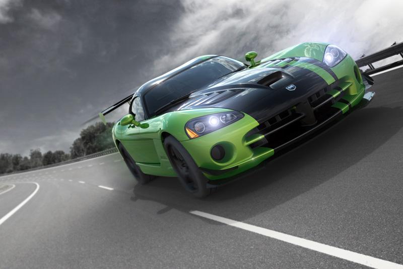 Snakeskin Dodge Viper Model