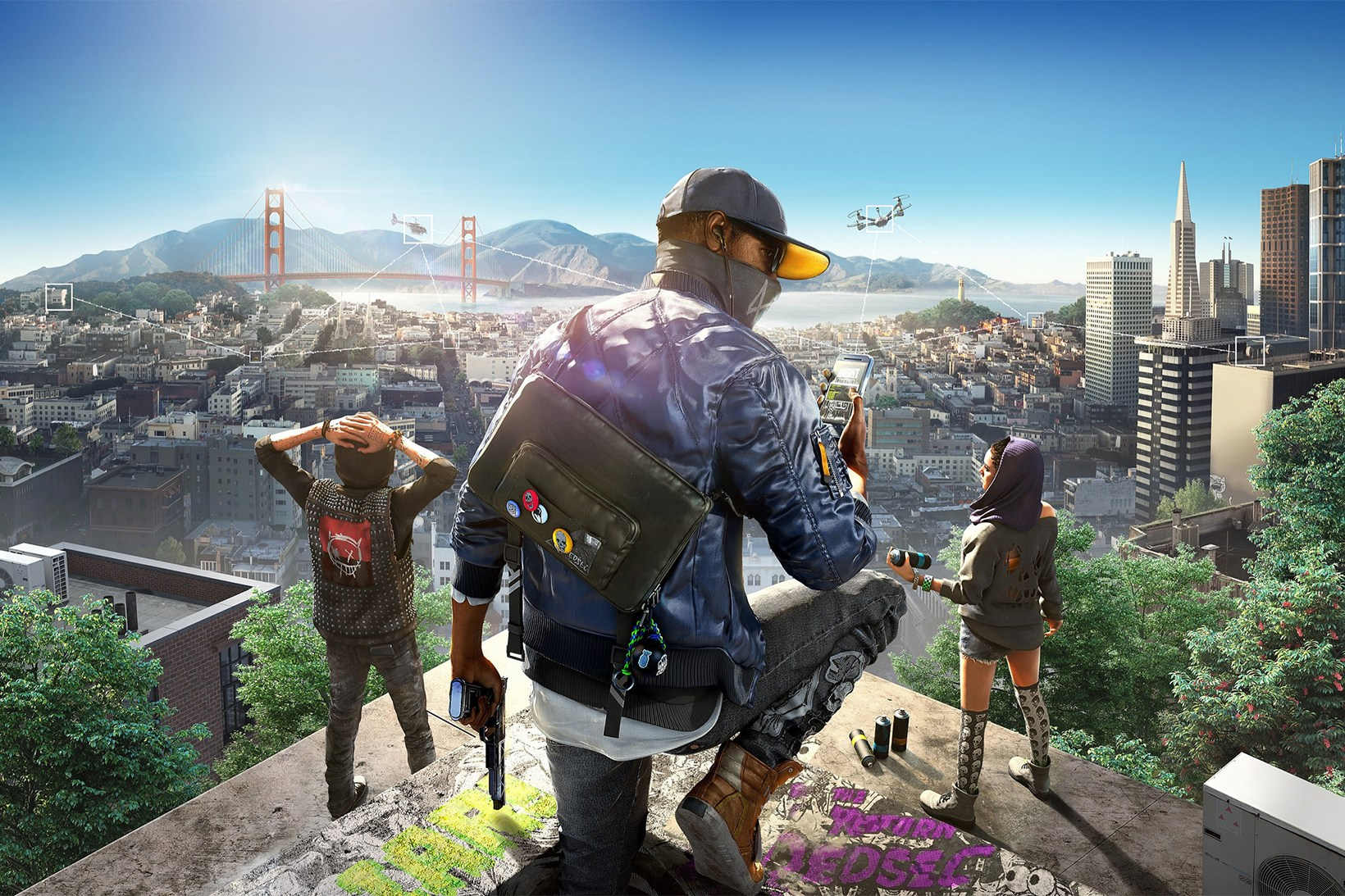 'Watch Dogs 2' Reveal Trailer