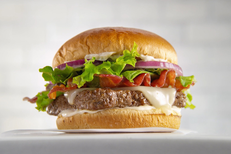 Wendy's Limited-Time Bacon Mozzarella Burger