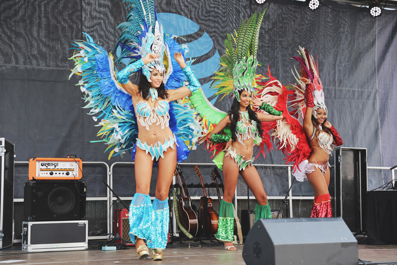 Road to Rio Samba Dancers