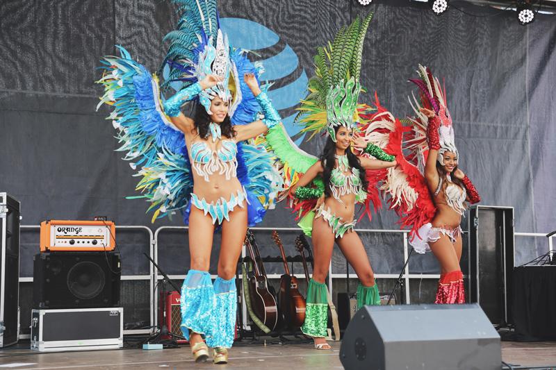 Road to Rio Samba Dancers