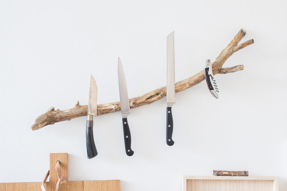 BuchholzBerlin Branch Knife Rack