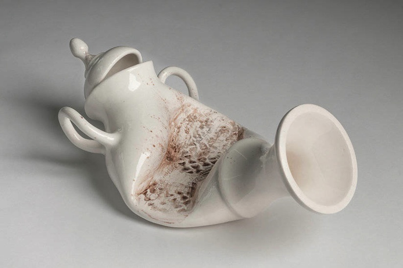 Laurent Craste Violently Alters 18th and 19th Century European Porcelain