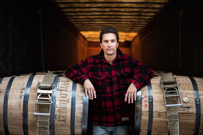 Matthew McConaughey Named Wild Turkey's new Creative Director