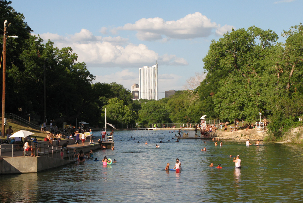 Barton Springs Pool - Austin, Texas