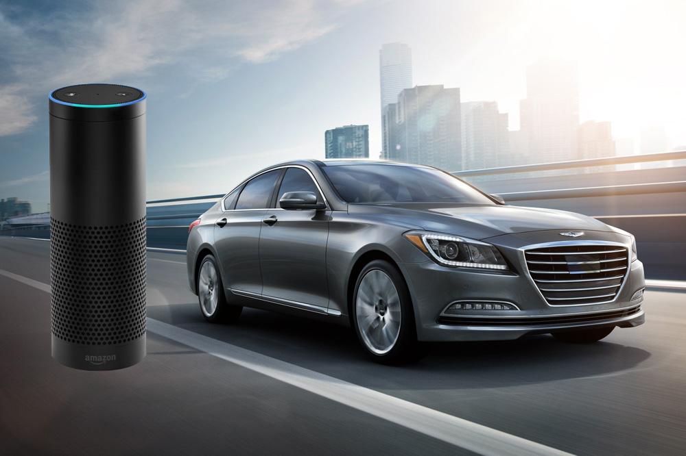 Genesis Integrates Amazon Echo and Alexa