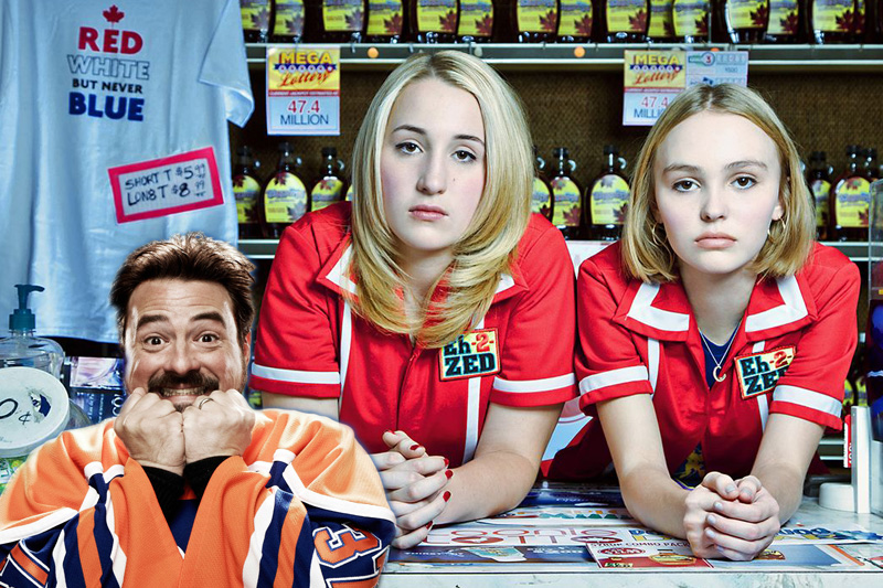 Kevin Smith Responds to Negative 'Yoga Hosers' Critic