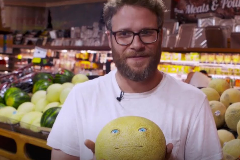 Seth Rogen Pranks Grocery Store Patrons