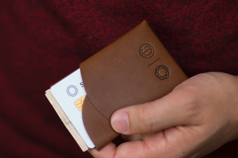 Tanner Goods x Simple Wallet