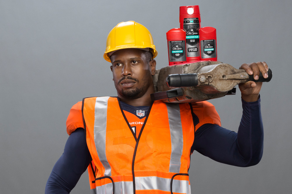 Super Bowl MVP Von Miller is the new Old Spice Guy
