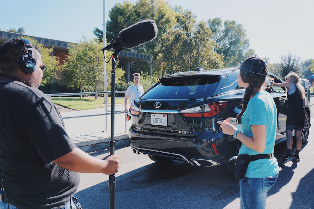 Behind The Scenes And On Set With Lexus Short Films 2016