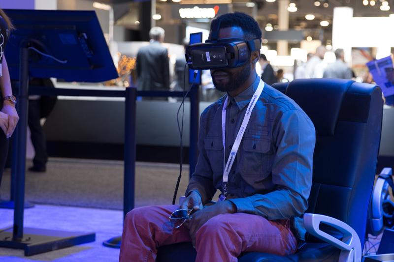AT&T Drone VR at CTIA 2016