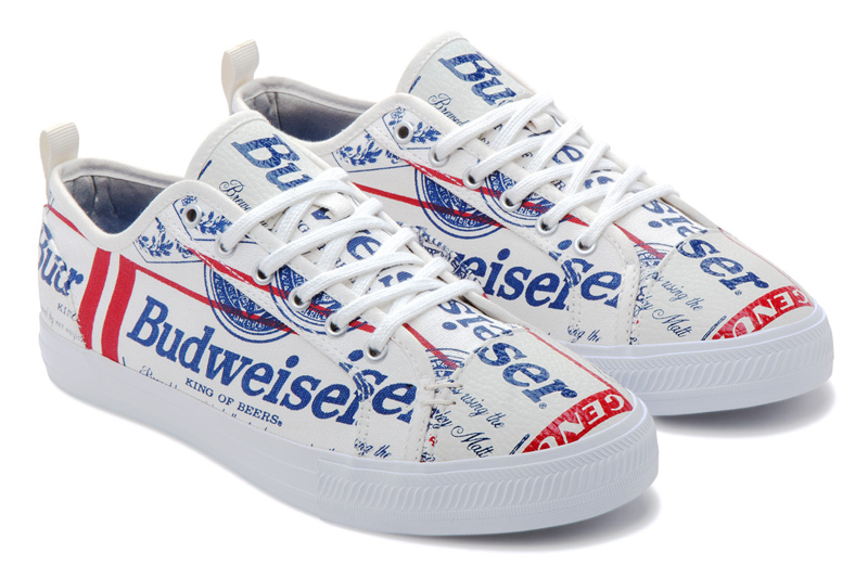 Budweiser Teams Up with Alife and Greats on a Shoe for Spring 2017