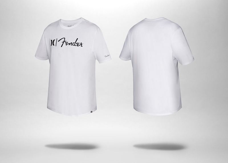 8e0b678d3 Fender x Hurley White T-Shirt - Joe's Daily
