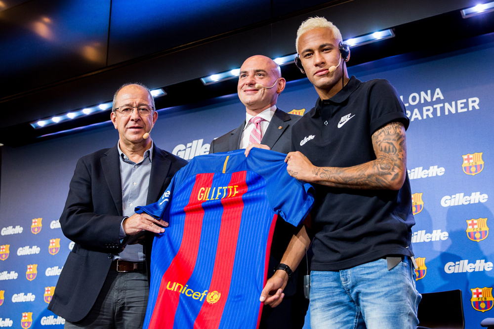 Gillette Announces Global Partnership with FCB (Futbol Club Barcelona)