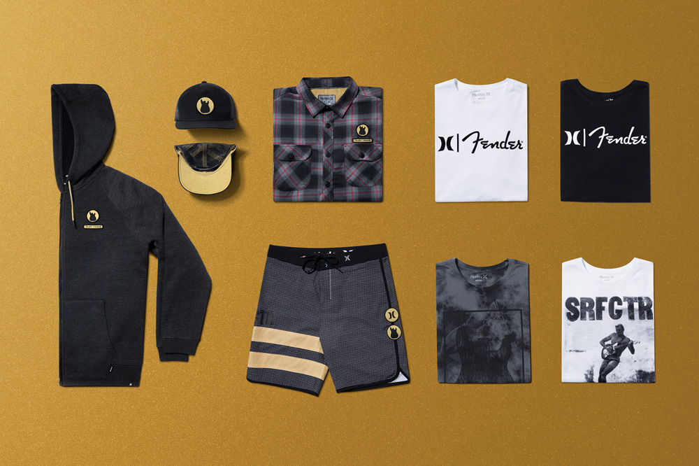 Hurley x Fender Men's Capsule Collection