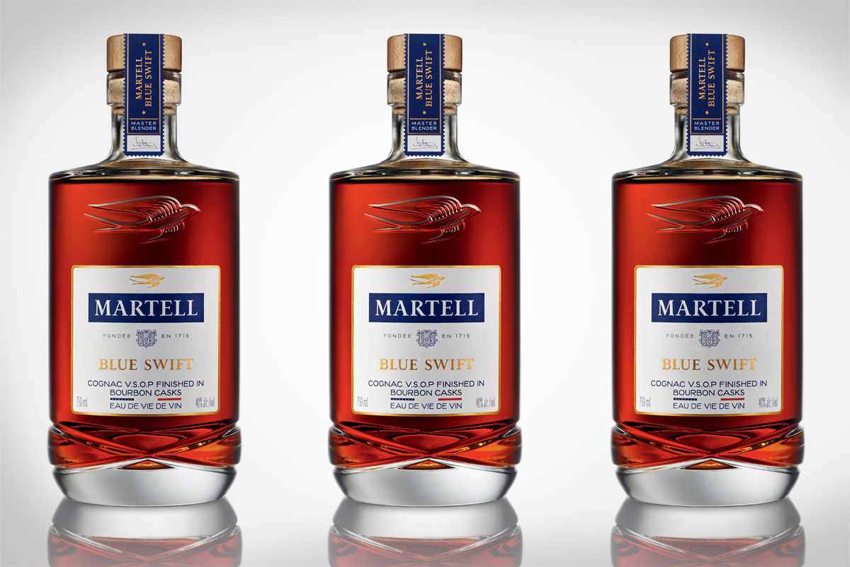 Martell Cognac Blue Swift