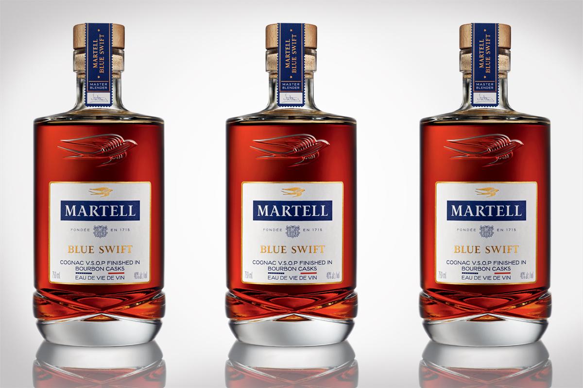 Martell Cognac Blue Swift