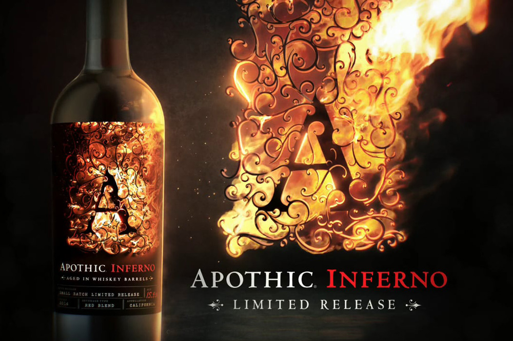 Apothic Introduces a Small-Batch, Limited Release Red Blend, Aged in Whiskey Barrels