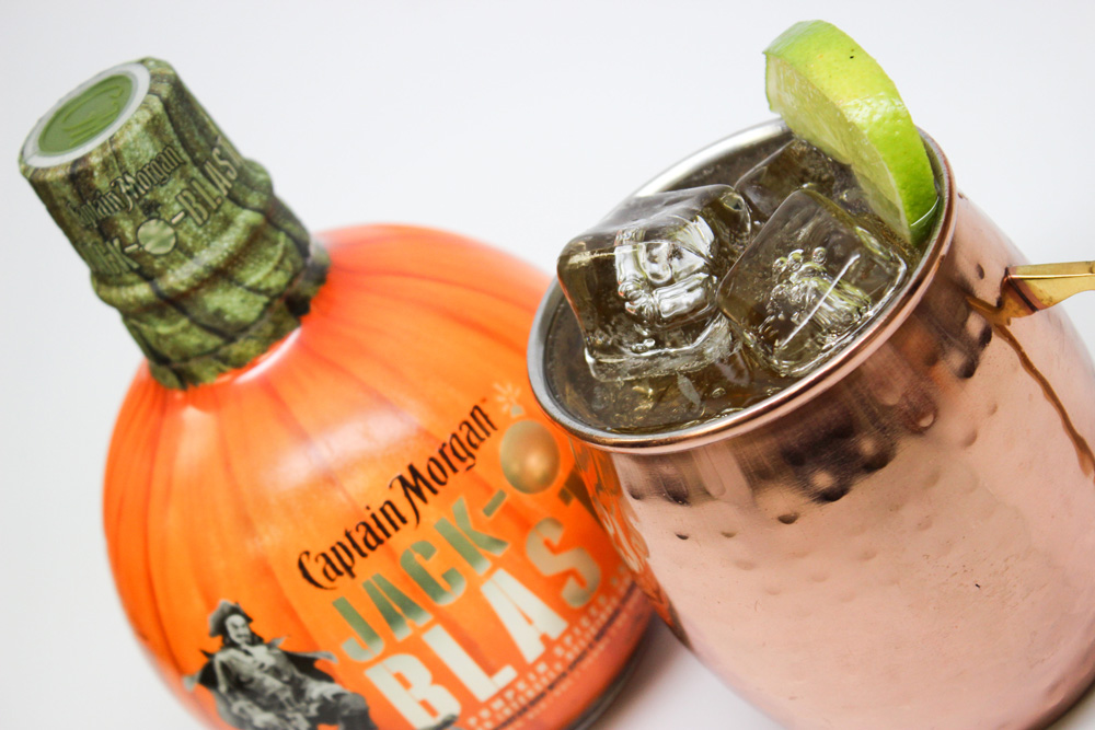 Captain Morgan Jack-O'Blast Recipes