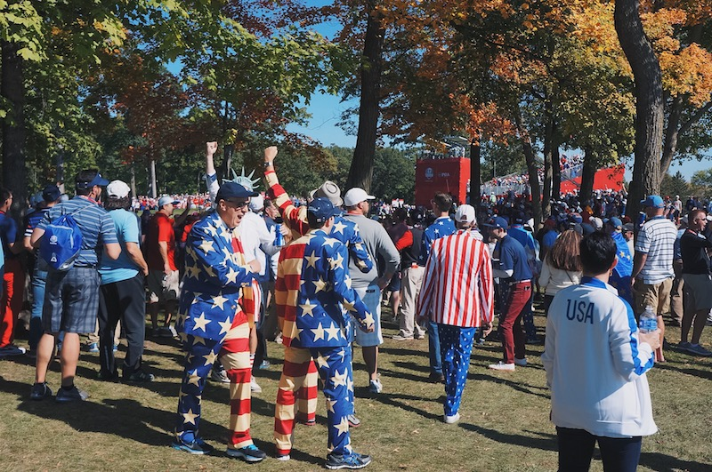 USA Suits at 2016 Ryder Cup