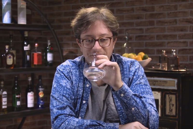 Jason Horn Blind Taste Testing Bottom-Shelf Vodka
