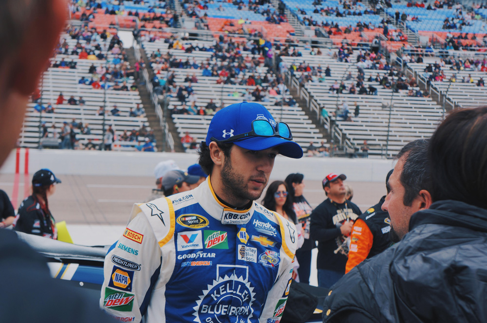 Race Day With Kelley Blue Book NASCAR Driver, Chase Elliott