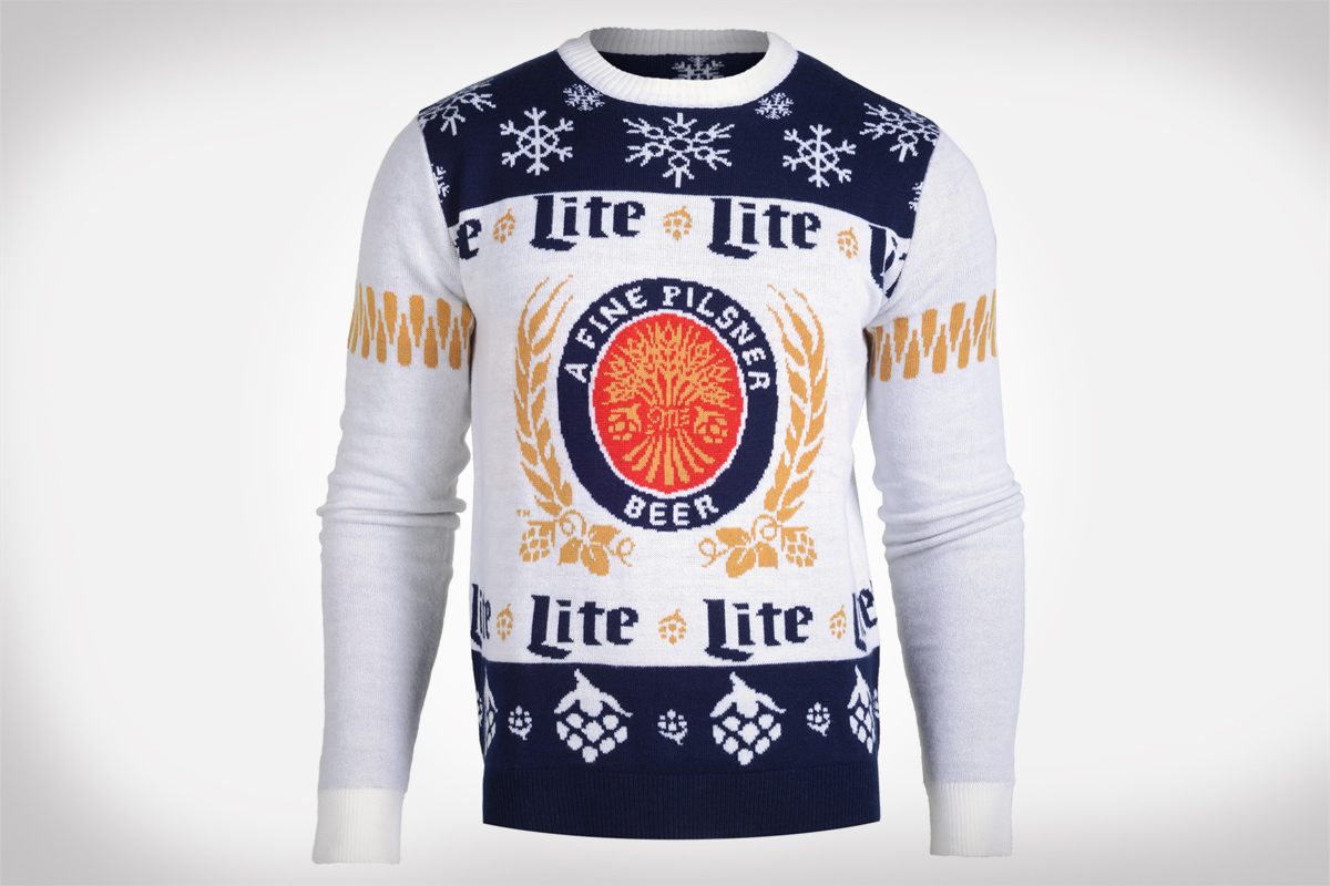 Miller Lite Ugly Sweater