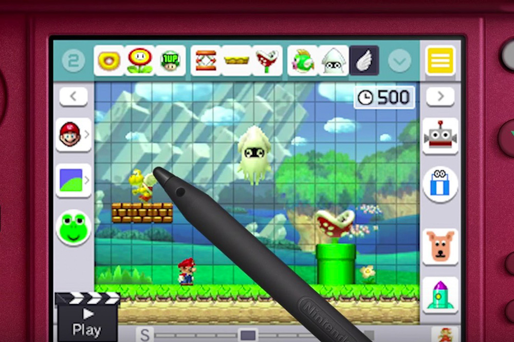 Super Mario Maker on Nintendo 3DS