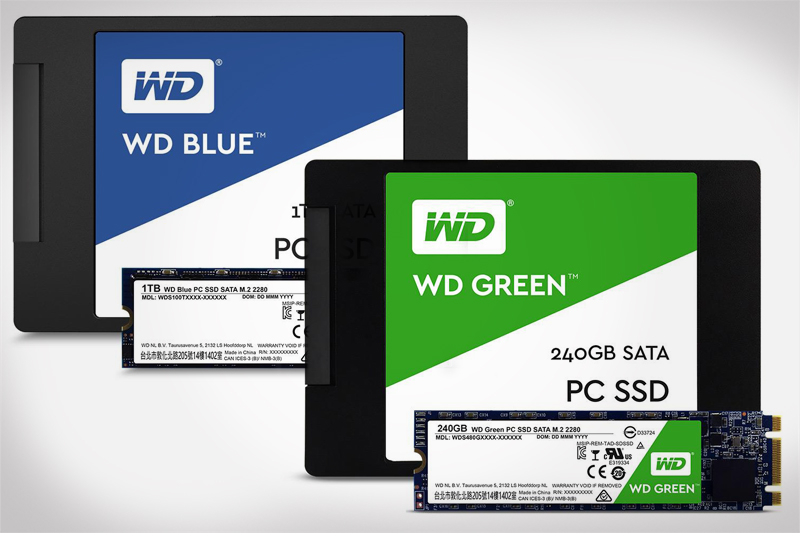 Western Digital Solid State Drives (SSD)