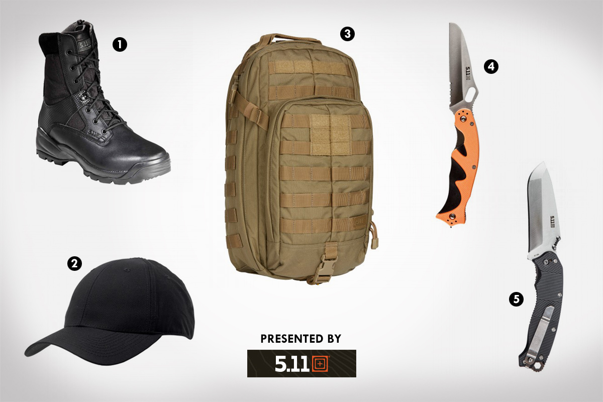 Tactical gift guide, presented by 5.11