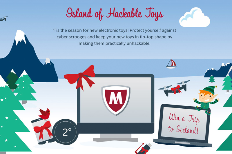 Island of Hackable Toys - Intel Security x McAfee