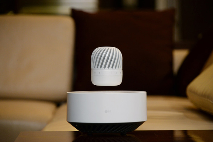 LG Levitating Speaker Unveiling at CES 2017