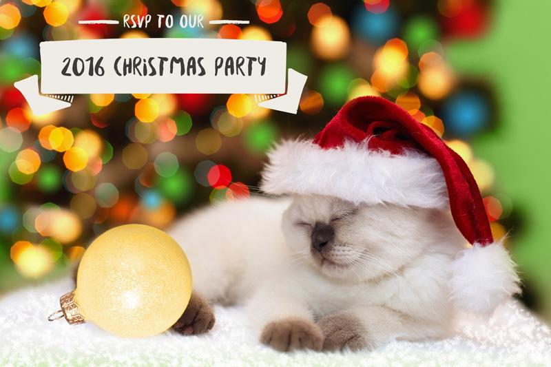 Used ReType & GraphicStock to create Christmas invitation