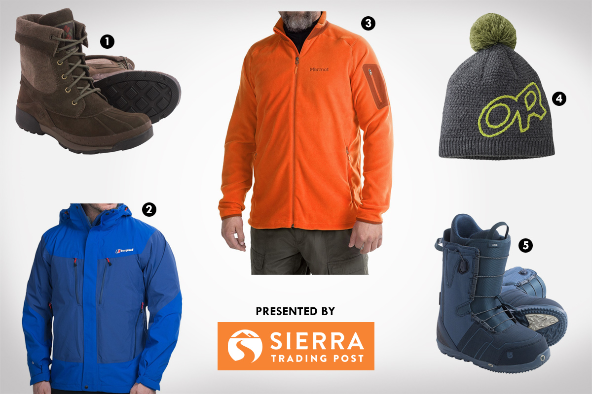 2016 Winter Essentials from Sierra Trading Post