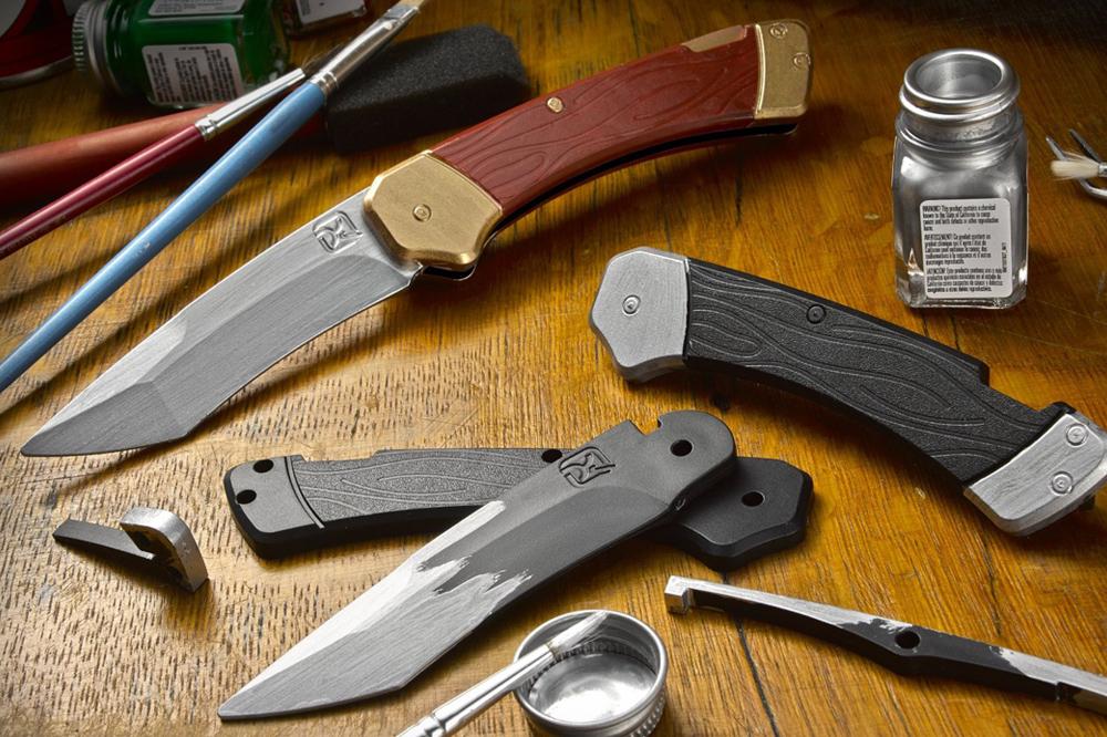 Trigger Knife by Klecker Knives