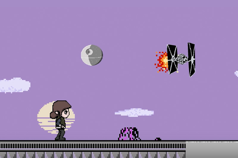 Rogue One 8-Bit by Cinefix