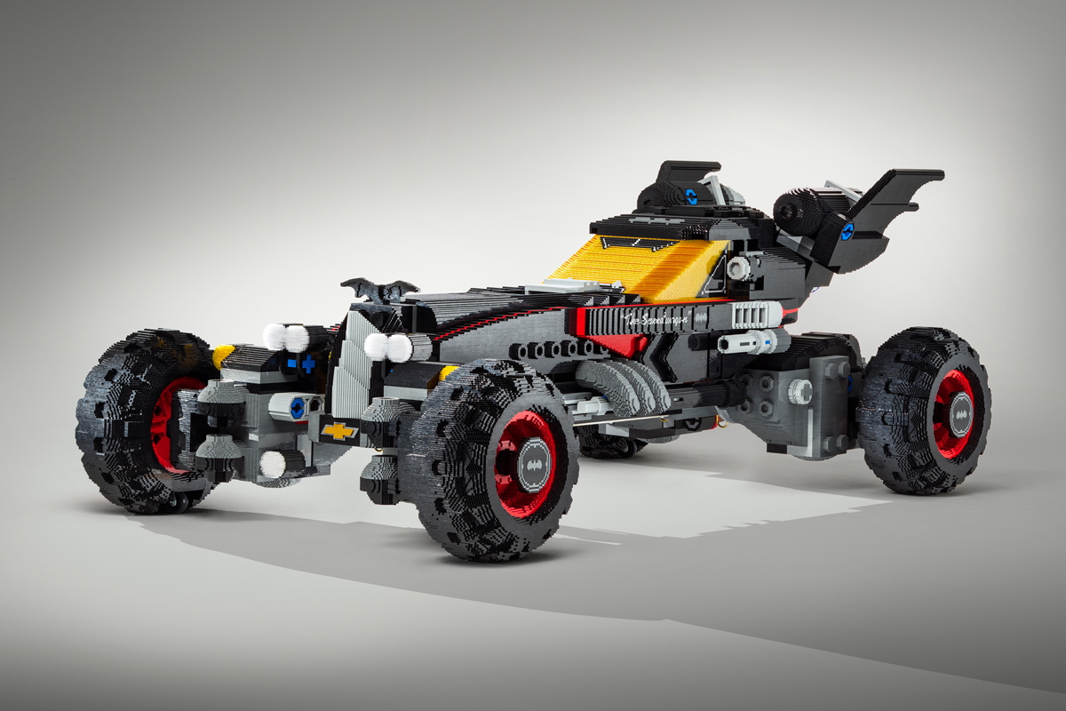 Life-size LEGO Batmobile from Chevrolet