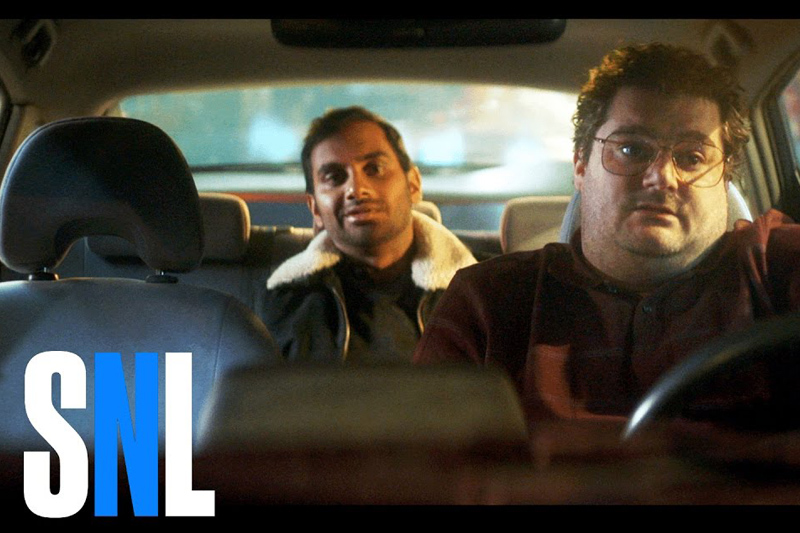 SNL Five Stars Skit featuring Aziz Ansari