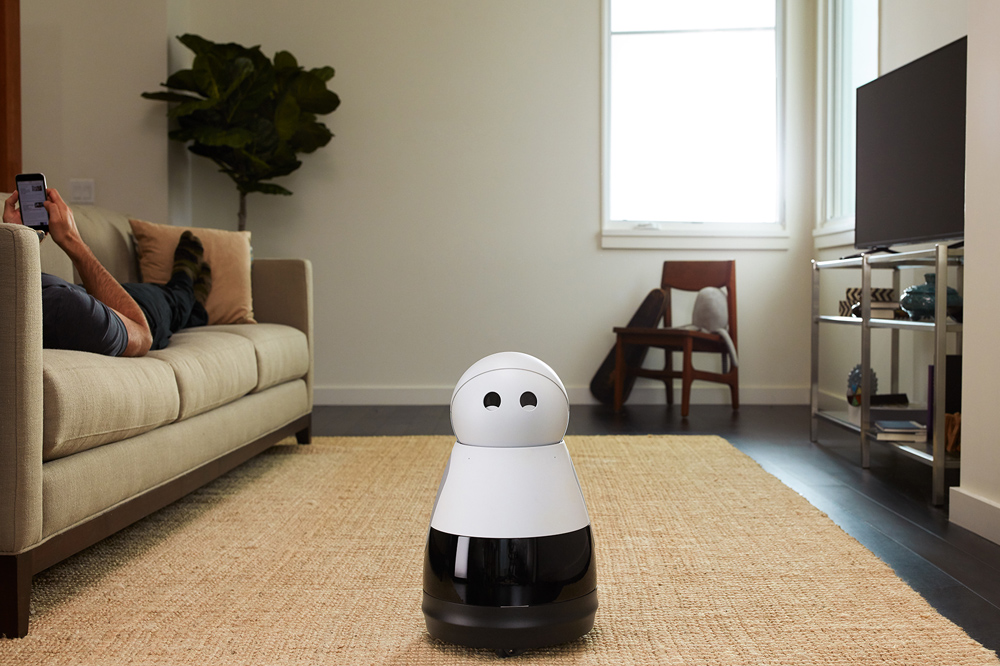 Mayfield Robotics' Kuri Home Robot